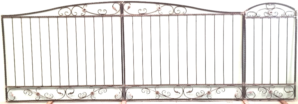 ворота дача 4 0м-1 (2)